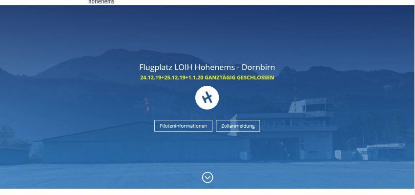 Flugplatz Hohenems